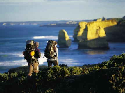 Great Ocean Walk near the Twelve Apostles