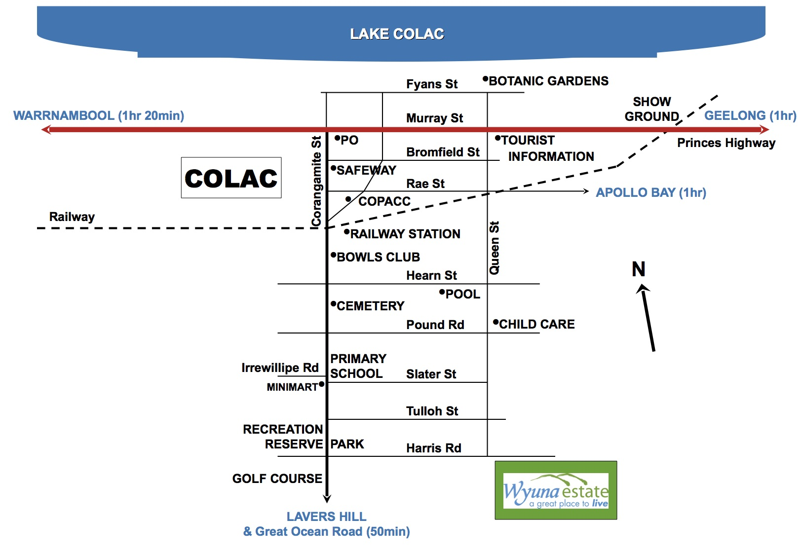 Wyuna Estate Colac